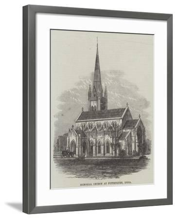 Memorial Church at Futteygurh, India--Framed Giclee Print