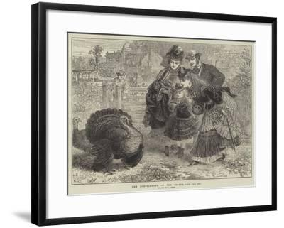 The Compliments of the Season--Framed Giclee Print