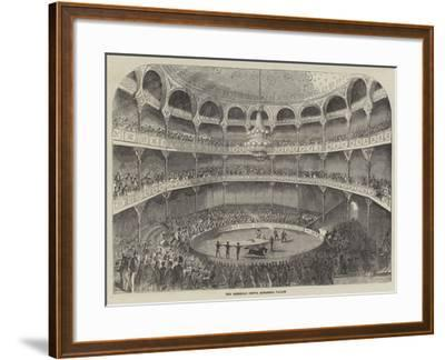 The American Circus, Alhambra Palace--Framed Giclee Print
