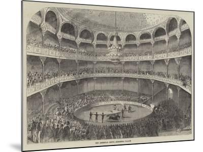 The American Circus, Alhambra Palace--Mounted Giclee Print