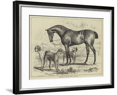 Sketches from the Show at Boston--Framed Giclee Print