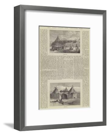 The Gold Coast and Ashantee War--Framed Giclee Print