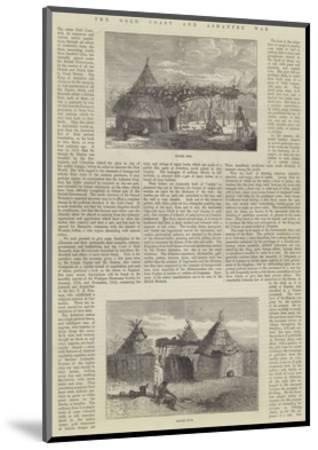 The Gold Coast and Ashantee War--Mounted Giclee Print