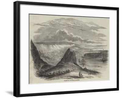 Kavarna Bay, and Town of Baltschik--Framed Giclee Print