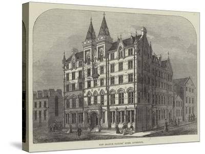New Branch Sailors' Home, Liverpool--Stretched Canvas Print