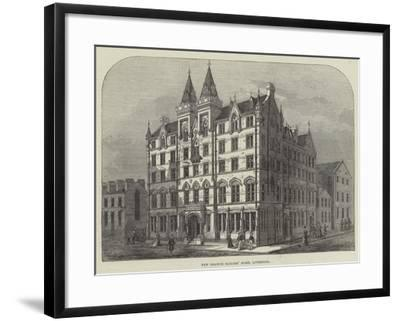 New Branch Sailors' Home, Liverpool--Framed Giclee Print
