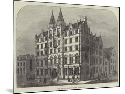 New Branch Sailors' Home, Liverpool--Mounted Giclee Print