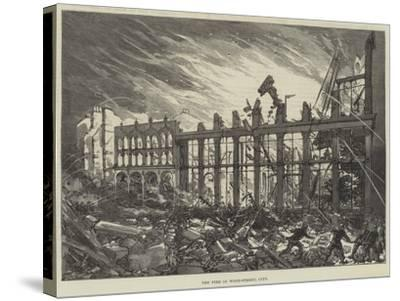 The Fire in Wood-Street, City--Stretched Canvas Print