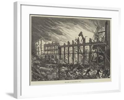 The Fire in Wood-Street, City--Framed Giclee Print