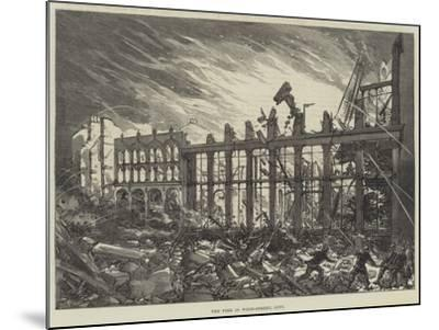 The Fire in Wood-Street, City--Mounted Giclee Print