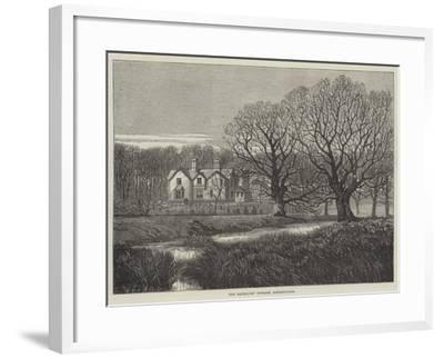 The Bachelors' Cottage, Sandringham--Framed Giclee Print