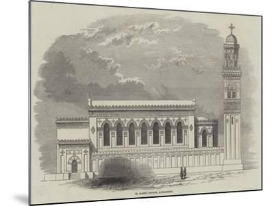 St Mark's Church, Alexandria--Mounted Giclee Print