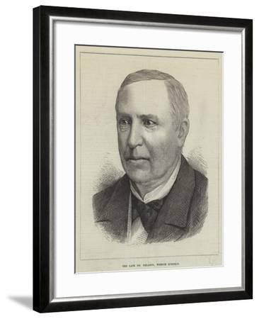 The Late Dr Nelaton, French Surgeon--Framed Giclee Print