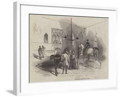 The Queen's Riding House, Windsor--Framed Giclee Print