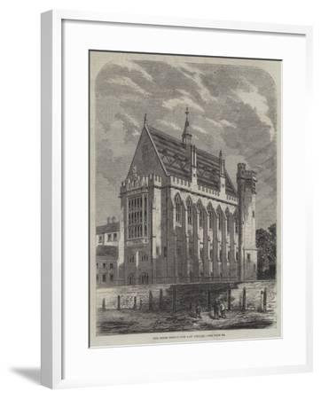 The Inner Temple New Law Library--Framed Giclee Print