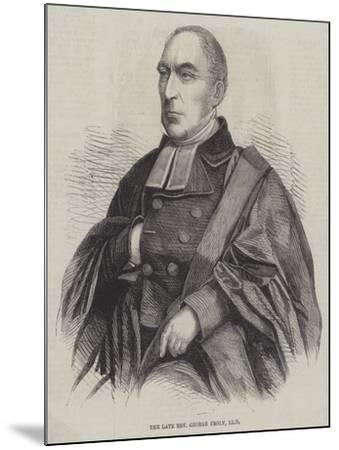 The Late Reverend George Croly--Mounted Giclee Print