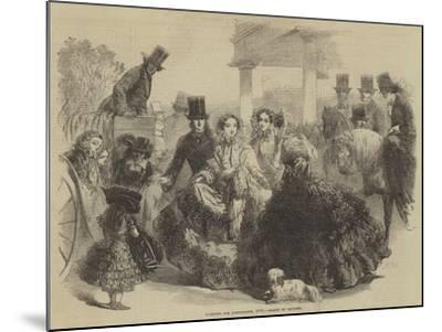 Fashions for Longchamps, 1855--Mounted Giclee Print