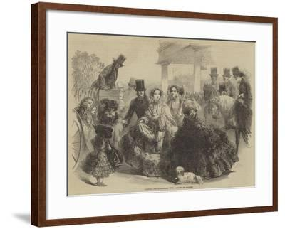 Fashions for Longchamps, 1855--Framed Giclee Print