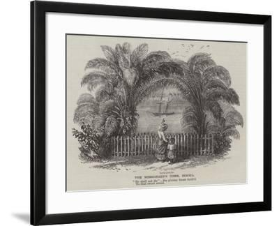 The Missionary's Tomb, Bimbia--Framed Giclee Print