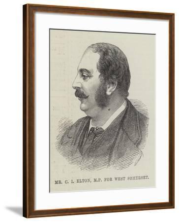 Mr C I Elton, Mp for West Somerset--Framed Giclee Print