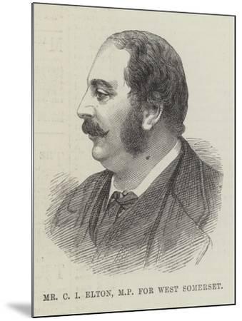 Mr C I Elton, Mp for West Somerset--Mounted Giclee Print