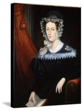 Mrs Ann Jane Carlisle, C.1828-32--Stretched Canvas Print