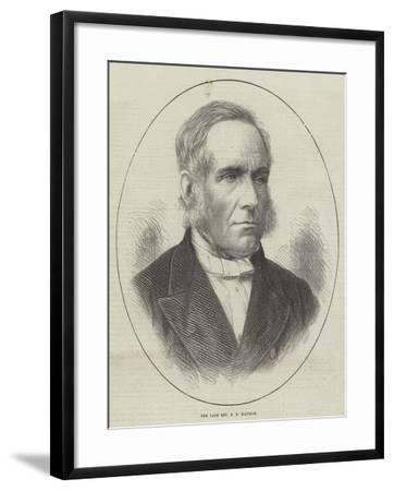 The Late Reverend F D Maurice--Framed Giclee Print