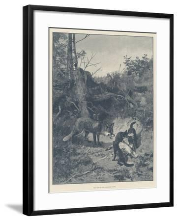 The Fate of Our Christmas Goose--Framed Giclee Print