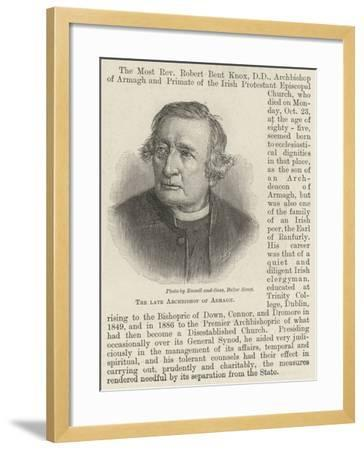 The Late Archbishop of Armagh--Framed Giclee Print