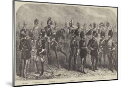 New Uniforms of the British Cavalry--Mounted Giclee Print