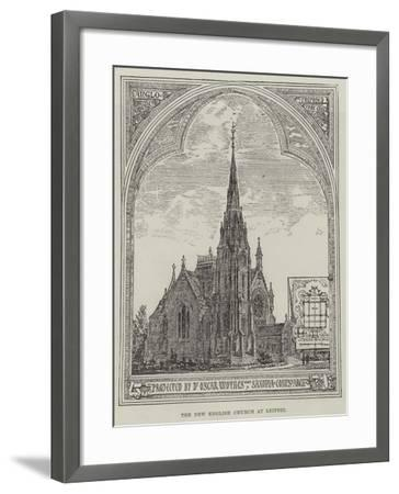 The New English Church at Leipsic--Framed Giclee Print