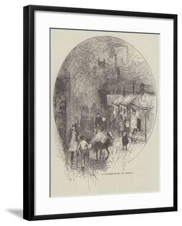 On the Road to One Ash, Rochdale--Framed Giclee Print