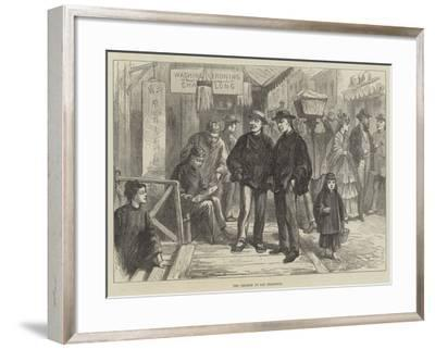 The Chinese at San Francisco--Framed Giclee Print
