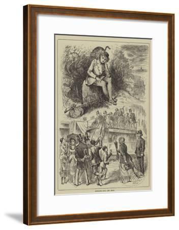Highgate, Real and Ideal--Framed Giclee Print