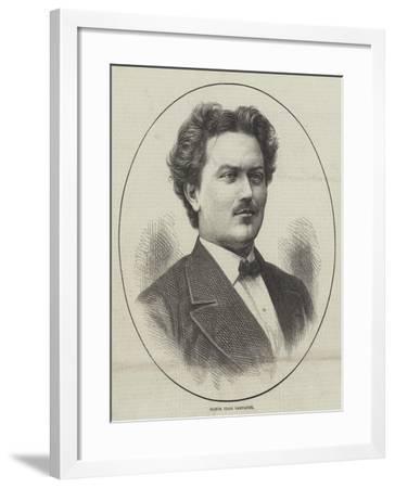 Signor Italo Campanini--Framed Giclee Print