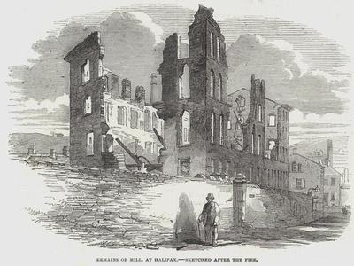Remains of Mill, at Halifax--Framed Giclee Print