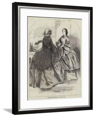 Fashions for September--Framed Giclee Print