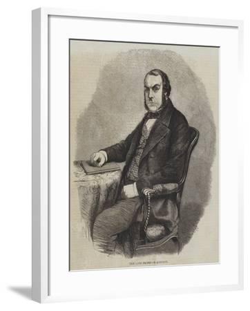 The Late Professor Quekett--Framed Giclee Print