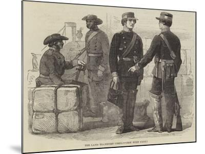 The Land Transport Corps--Mounted Giclee Print