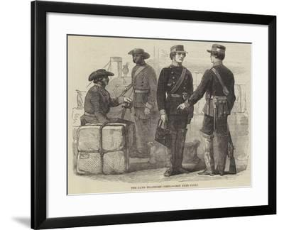 The Land Transport Corps--Framed Giclee Print