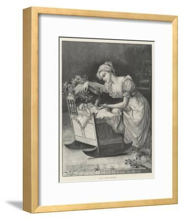 Baby's First Christmas--Framed Giclee Print