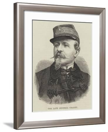 The Late General Chanzy--Framed Giclee Print