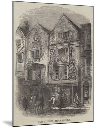 Old Houses, Moorfields--Mounted Giclee Print