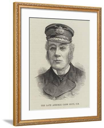The Late Admiral Carr Glyn--Framed Giclee Print