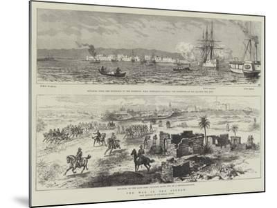 The War in the Soudan--Mounted Giclee Print