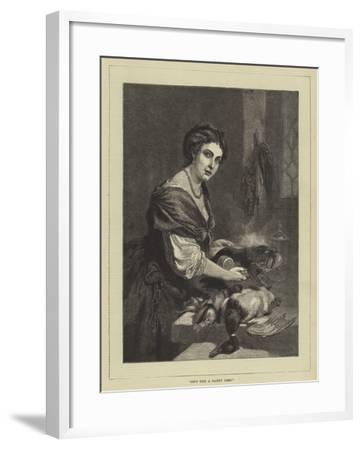 Isn't This a Dainty Dish?--Framed Giclee Print