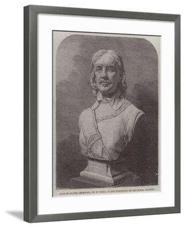 Bust of Oliver Cromwell--Framed Giclee Print