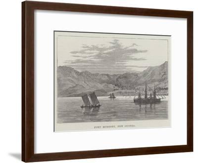 Port Moresby, New Guinea--Framed Giclee Print