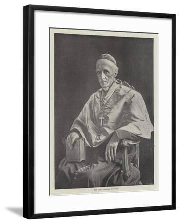 The Late Cardinal Manning--Framed Giclee Print
