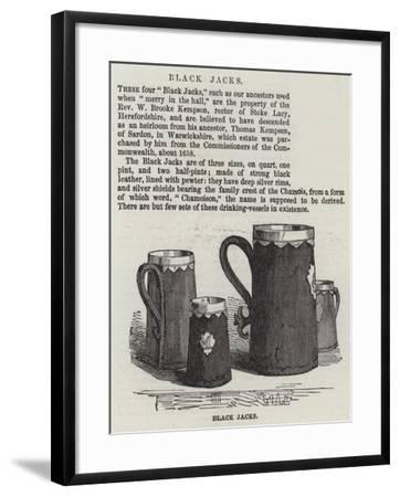 Black Jacks--Framed Giclee Print